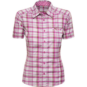 axant Alps Reisshirt Agion Active Dames, violet/grey check